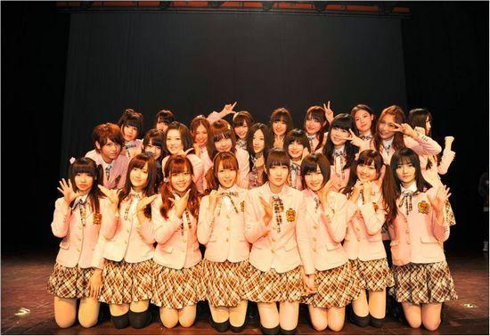 美少女天团SNH48集体空降东方卫视《中国梦之声》