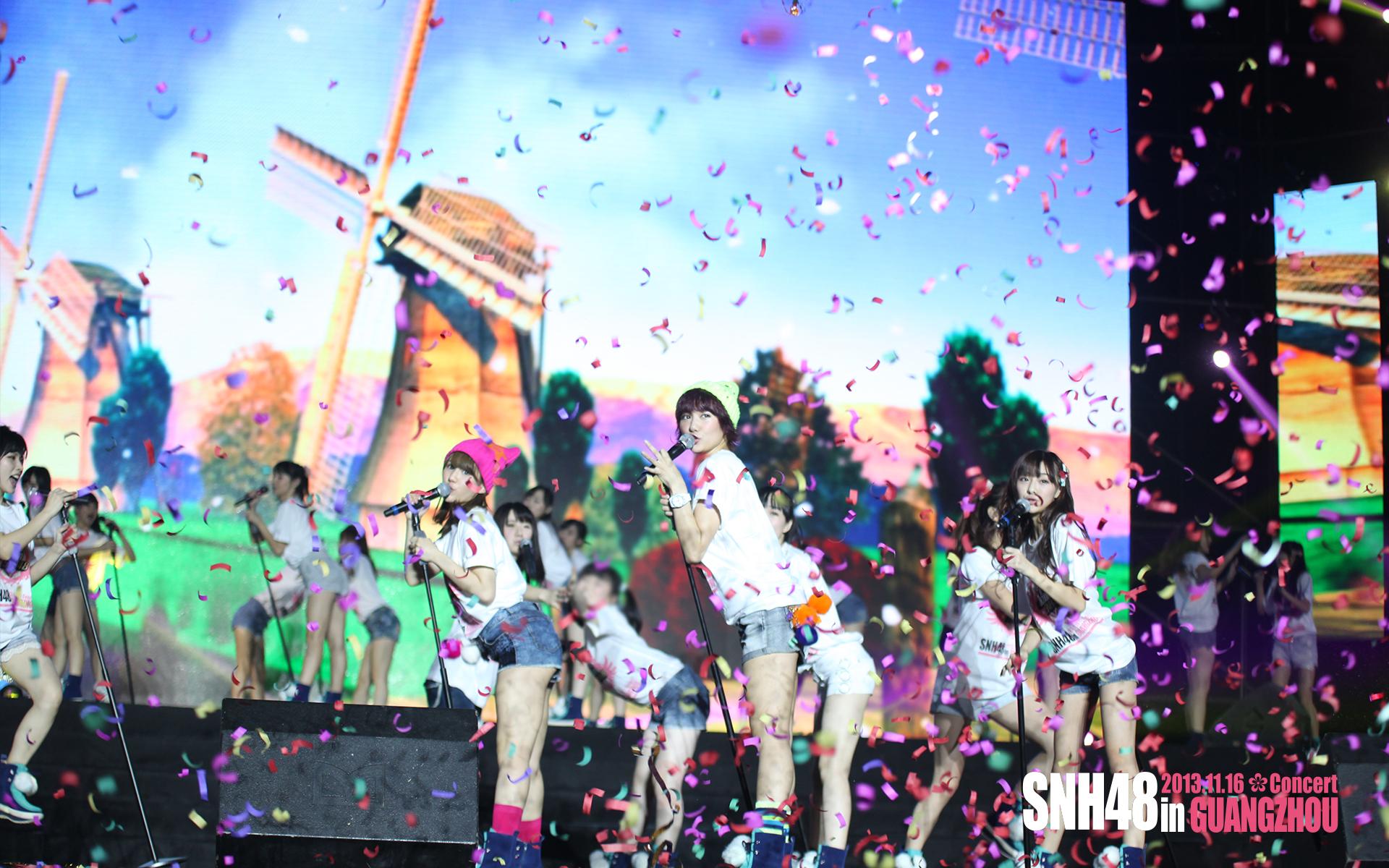 snh48广州万人演唱会主题壁纸大放送