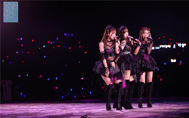 SNH48第三届金曲大赏完满落幕  50首金曲上演年度巅峰对决